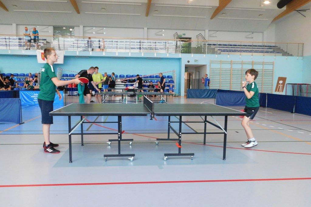 Tenis stołowy - Korona Cedry Małe